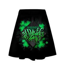 Patrick Size Chart Amazon Com St Patricks Day Clothes Womens Short Skirt