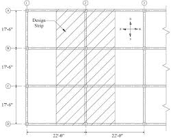 Rebar Design And Detailing Data Chart Two Way Concrete Slab With Beams Spanning Between Supports