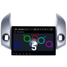 10 inch Quad Core Android 5.1.1 Car GPS for Toyota RAV4 2007 2012 ...