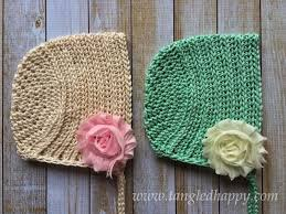 Free Crochet Baby Bonnet Pattern Amazing Inspiration Design