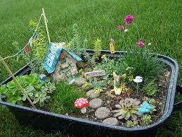 Old Container Create Fairy Garden Can Big Small