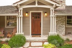 craftsman front doorCraftsman Front Door with exterior stone floors  Zillow Digs  Zillow