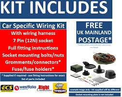 towbar pin wiring kit range rover sport toaug vehicle to preview electric kit fitting instructions