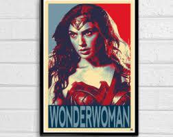 Retro Wonder Woman Vintage Collectible Metal Wall Decor Sign  16 Wonder Woman Home Decor