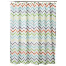 white shower curtain target. Image Of: Target Shower Curtain Zig Zag White