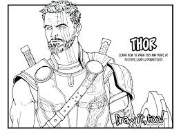 Avengers Color Pages Free Printable Avengers Coloring Pages
