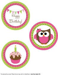 owl birthday bie owl birthday large party circles