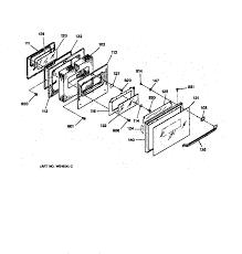 general electric jgsp31wetww gas range timer stove clocks and jgsp31wetww gas range oven door parts diagram