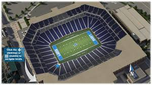 Ford Field Virtual Seating Chart Concert Ford Field Virtual