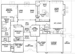ranch house floor plans. Astonishing 7 California Home Floor Plans Calder Ranch Menifee House