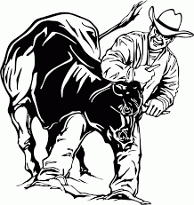 Small Picture Bullriding Coloring Pages Coloring Pages For All Ages Coloring