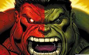Red Hulk vs Green Hulk Ultra HD Desktop ...