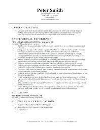 Registered Nurse Curriculum Vitae Sample Resume Sample For Nurses Nursing Administrator Curriculum Vitae