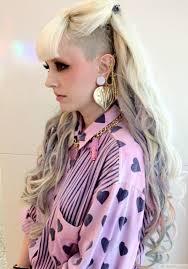 Long punk girl hairstyles