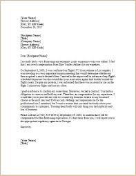Letter To Airline Letter To Airline Under Fontanacountryinn Com