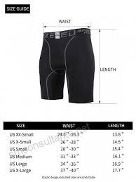Eu Mens Compression Shorts Running Tights Base Layer