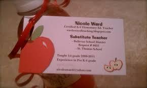 Teacher Business Cards Templates Free 13 Teacher Business Cards Templates Free 4 Business Card Stuff