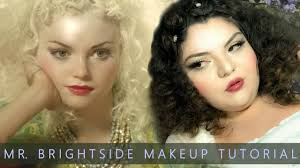 playing dress up mr brightside izabella miko hair makeup