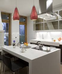 curvalo collection 1 light 13 ruby red le glass mini pendant contemporary kitchen