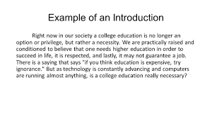 Parts Of An Argumentative Essay Parts Of An Introduction 1