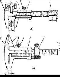 Крнтрольно измерительные приборы линейка штангенциркуль  Реферат Крнтрольно измерительные приборы линейка штангенциркуль