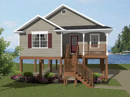 elevated beach house plans e story house plans coastal
