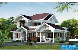 green homes beautiful villa elevation in 2000 sq feet