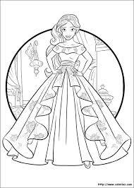 Princess Elena Of Avalor Colouring Page Disney Princess Avalor