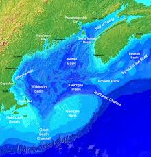 Gulf Of Maine Chart Georges Bank Wikipedia