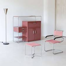 style design furniture. bauhaus style is characterized by its severely economic geometric design and furniture