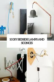 Bedside Lamp Ideas Archives Shelterness