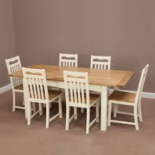Cotswold Cream Painted Solid Oak Extending Dining Table Flickr