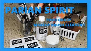 parian spirit makeup brush cleaner w demo beautiful women over 50