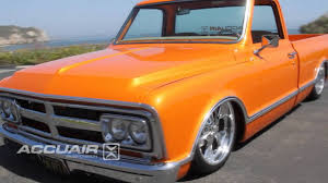 1969 Gmc Truck Accuair On Scott Lawrence39s 69 Gmc C 10 Youtube