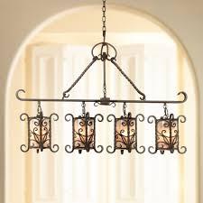natural mica collection 42 wide island chandelier john timberland lighting com