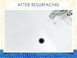 sink reglazing bath tub chip repair after sink reglazing orange county ca