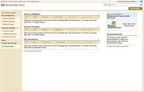 Sharepoint Knowledge Base Template 2013 Sharepoint Multi Function Templates Myhosting Com