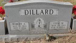 Effie Miller Dillard (1919-2004) - Find A Grave Memorial