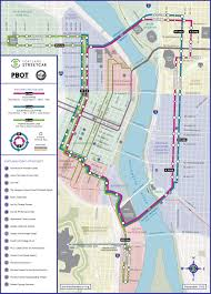 Phoenix Light Rail Stops Map Official Map Portland Streetcar September 2015amidst All