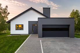 Modern garage doors Sliding Modern Garage Door Architecture Contemporist Modern Garage Door Architecture Slowfoodokc Home Blog Different