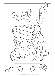 Easter Craft Ideas Coloring Page I