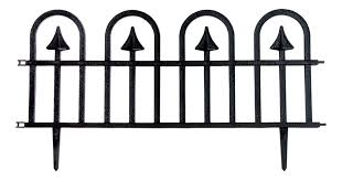 dynamic design wrought iron fencing single