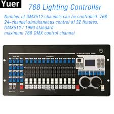 Disco Light Controller Us 390 0 Dmx512 Controller 768 Dmx Channels Built In 135 Graphics Stage Lights Control Equipment Dj Disco Light Controller Moving Head In Stage