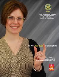 eradicating polio