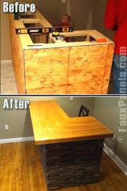 homemade man cave bar. Diy Man Cave Bar Plans Imitation Stone Panels Can Be Creatively Used Throughout The Home As Homemade 5