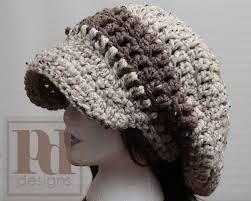 Chunky Slouchy Beanie Crochet Pattern