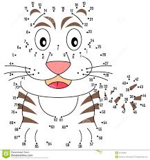 preschool connect the dots. Plain Preschool Connect The Dots  Tiger Intended Preschool The C