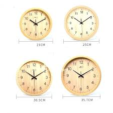 8 inch wall clock 8 inch wall clock inch wall clock 8 round wood rustic simple silent bedroom 8 inch kitchen wall clocks 8 round wall clock