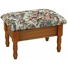 Amazon Frenchi Furniture Queen Anne Style Footstool w