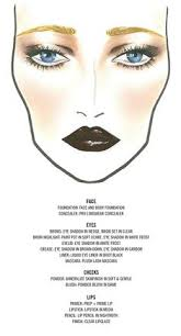 mac s face chart for the great gatsby